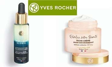Yaşlanma Karşıtında Eşsiz Bakım Sunan Yves Rocher Anti Age Global Serisi, Bitkisel İçerikli İlk Gece Serumunu Sunuyor!